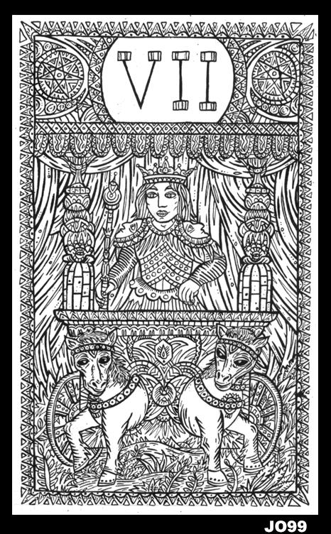 le-chariot-VII-noir-et-blanc